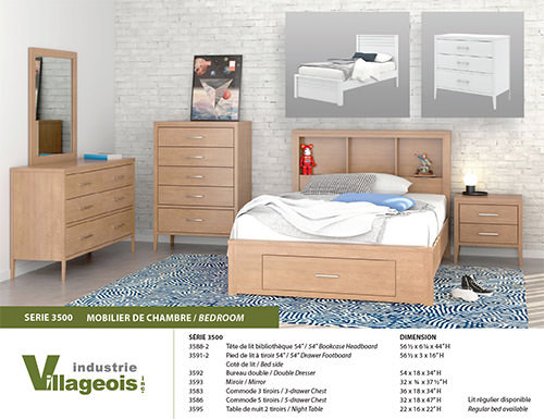 bedroom furniture 3500 Series