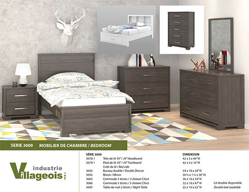 bedroom furniture 3600 Series