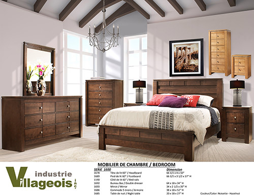 meubles tv meubles de chambre industrie villageois. Black Bedroom Furniture Sets. Home Design Ideas